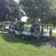 Local residents participating in the Fourth Annual Rev. Coleman Golf Classic.