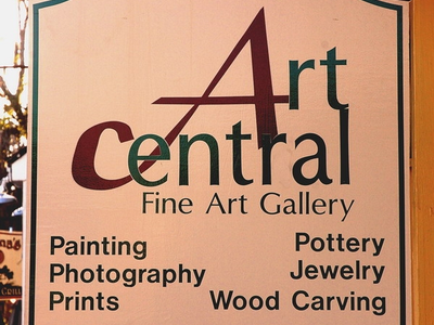 Art central sign   guenter
