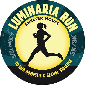 Luminaria run logo 2014