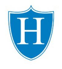 Medium blue logo shield only