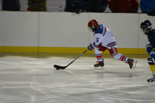 Andrew Della Piana had 1 goal and 1 assist in the win over Wakefield