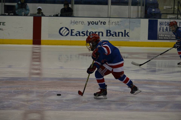 Brady Chapman had 2 goals and 1 assist in the weekend sweep of the Wildcats