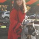 """Red Riding Hood (Kayleigh-Ann) and The Big Bad """"Wolf""""? Submitted by Jenny Nagle"""