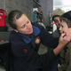 AJ, age 3, of Bellingham, get his face painted by Firefighter Bethany