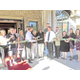 Ribbon cutting ceremony for Cottonwood Place.