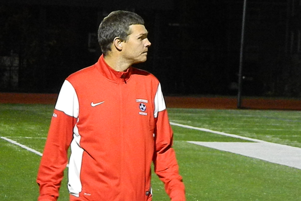 Third-year coach Chris Burns led Tewksbury to the MVC Div. 2 Championship in 2014