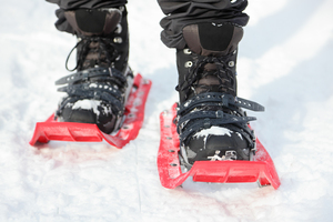 Modern equipment makes snowshoeing accessible to all age groups