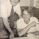 Checking in - new club Director Kent Campbell (right) with Regional Service  Director Ray Bodgen (Circa 1982).