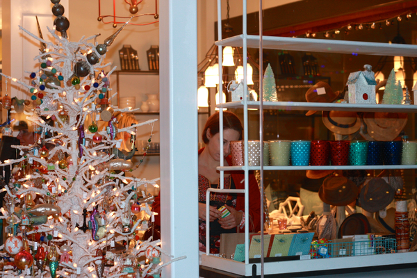 Waterleaf's new Home and Gift store is decorated for the holidays.