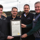 DFRG CFO Thomas Pennison and DFRG COO Jeff Carcara with City of Southlake Deputy Mayor Pro Tem Brandon Bledsoe with DFRG CEO Mark Mednansky with Mayor John Terrell of Southlake Proclamation.