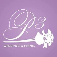 Medium p3 weddings and events logo