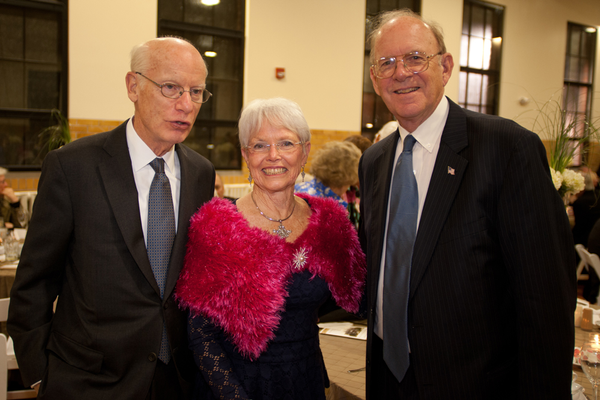Alan Griffith, Delegate Addie Eckardt, and Tom Hill