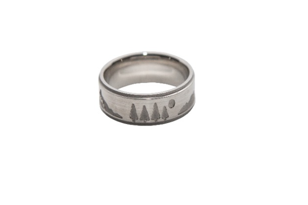 Men's Outdoor-Themed Rings, prices start at $270 at Goldsmith Gallery Fine Jewelers, 3951 Missouri Flat Road, Placerville. 530-621-1188, goldsmith-gallery.com