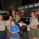 Boy Scouts Roasting Chestnuts