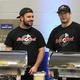 Chris Clarke and Andrew Aronovitz of Rock 'n Coal Pizza