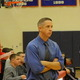 Coach Phil Conners watches the action