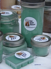 Soap Bucket Skincare  Candles opens in Oxford - 12162014 0308PM