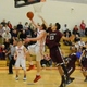 Henry Roberts (21) drives for two of his seven points against Chelmsford.