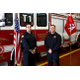 Timothy M. Mancusi (left) and Joel  R. Altavesta, III of the Tewksbury Fire Department were among 24 graduates in the most recent class of the Massachusetts Firefighting Academy