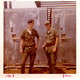 Paul Lee (left) and Skip Miller in Bien Hoa, Vietnam, on April 17, 1972.  This photo was recently added to the archives because of the Listening Station project.
