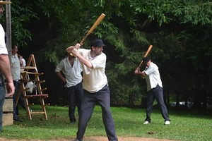 Vintage Base Ball Matches Mohican Base Ball Club MBBC of Kennett Square - start 04192015 1100AM