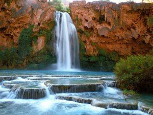 Medium havasu falls havasupai indian reservation arizona