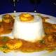 Camarones a la Criolla at Aromas Del Sur in Ephrata.