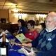 Cuisine Safari members ordering their food at Aromas Del Sur in Ephrata.