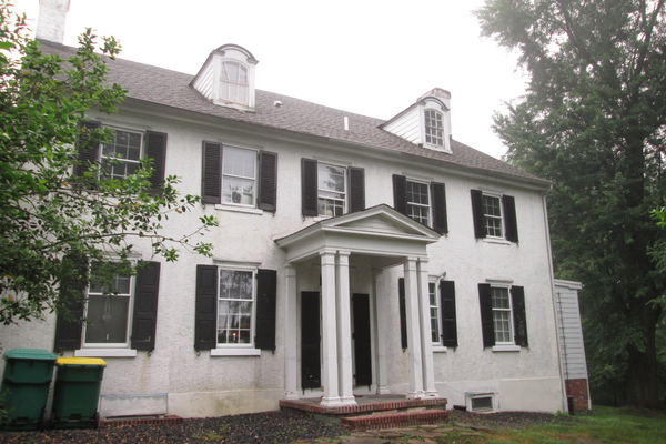 The Jackson House, on Lancaster Pike in Hockessin, has been the site of a home for more than 250 years. Today it houses a chiropractor's office.