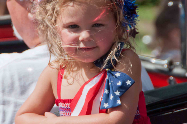 Courtesy photo Scenes from a July 4 celebration. The Rotary has been involved in organizing the event in the past.