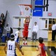 Alex DiRocco (3) takes a jump shot from the corner.