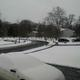 Bordentown was hit with several inches of snow, but less than predicted.