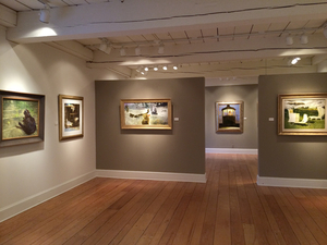 The Somerville Manning Gallery hosts a show of works by Jamie Wyeth through March 7