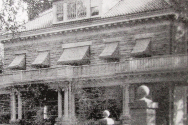 This circa 1907 mansion at 217 N. Broad St. was expanded by Dr. Dorsey Lewis and his wife, Mary.