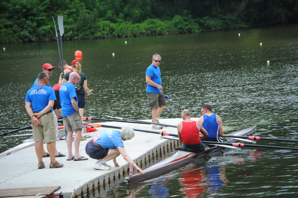 Action from  Saturday, July 26, the first of two days of the 2014 Diamond State Masters Regatta.