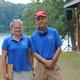 Diamond State Masters Regatta officials John Schoonover and Maggie Brokaw.