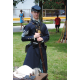 Members of the Victorians of Virtue and Valor group showed visitors how to handle muskets.