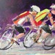 Courtesy photo John Suplee- 'Racers' (detail) by John Suplee, was spotlighted in 'Criterium: The Art of Racing' in August.