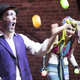 """The old notion of squeaky-clean clowns is dead,"" Candi said.  ""Thinking outside the box gives us a lot more wiggle room in what we can clown.""  The clown duo is looking for-ward to performing in a benefit show in April to help buy medical supplies for a local per-former in need. Photo: Robert Berlin"