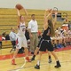 Karalyn Gallella (21) looks to make a pass against Marblehead.