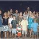 The Matriarch, right in the middle of her family on a recent vacation. Left to right: George Knights, Julie Knights, Lynne Hunt, Matt Hunt, Kyle Hunt, Jess Hunt, Bob, Nancy, Cody Knights, Hunter Knights, Nathaniel Hunt, Scott, Shauna, Terri Hunt, Logan Knights, Shane Hunt.