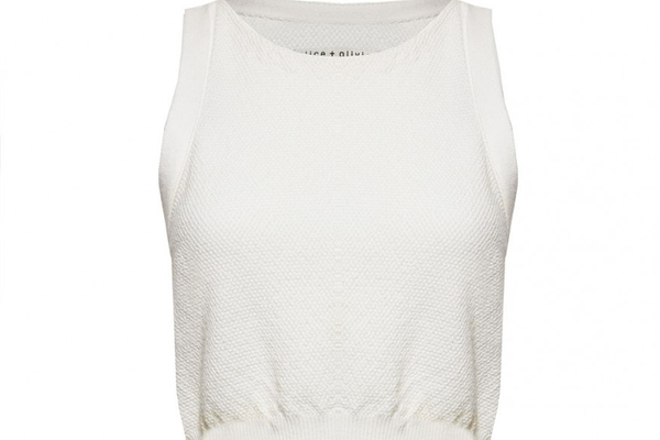 Knit Cropped Top by Alice + Olivia - $178