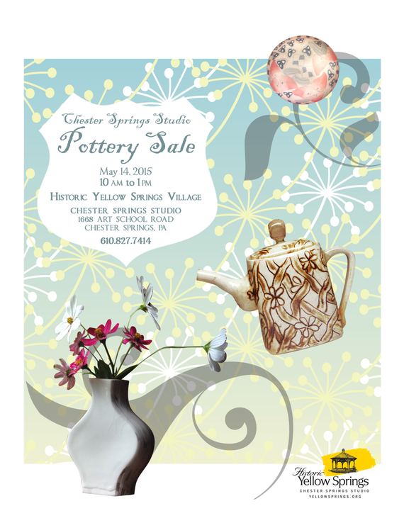 Pottery sale 76th herb sale