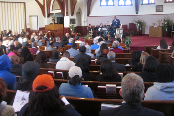 A capacity crowd filled Mary Dod Brown Memorial Chapel for the ceremony on March 12.