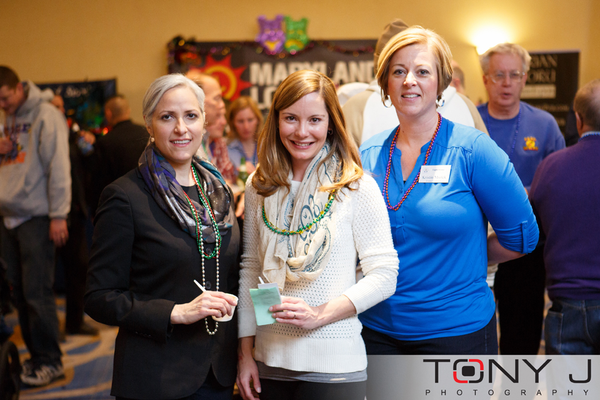 Linda Showalter, Alicia Main, and Kristin Mrotek
