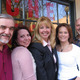 """The cast of WCHE's """"The Morning Magazine"""" (from left): Bill Mason, Heather Bird, Mary Lou Doyle, Dr. Lauren Schofield and Doug Stirling."""