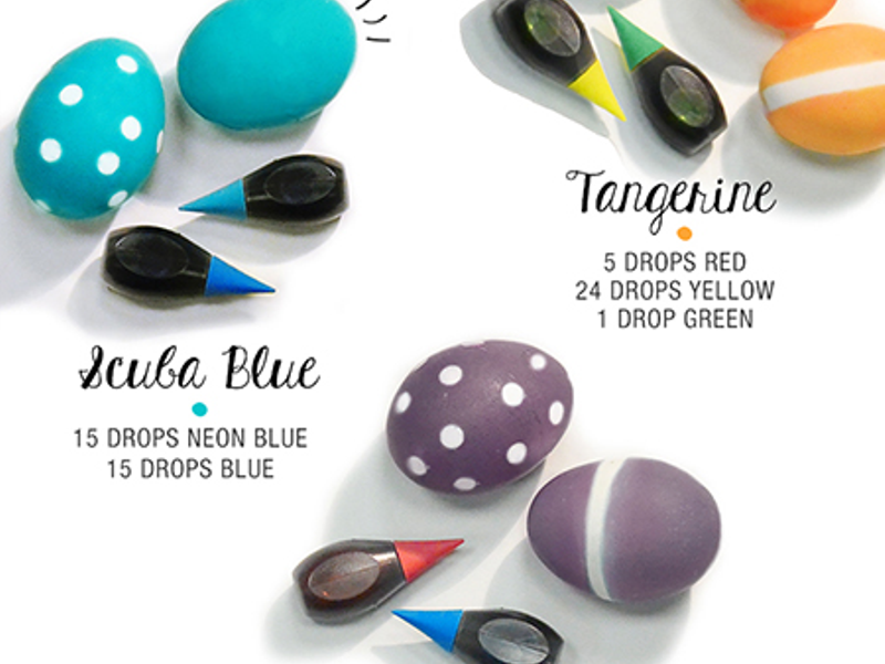 McCormick Pantone® Easter Eggs Infographic | Woodstock Magazine