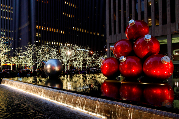 Midtown Christmas on 6th Avenue