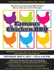 Famous Chicken BBQ - start May 09 2015 0130PM