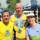 Dave McGillivray, Duffy Fogle, and Rose Rottloff